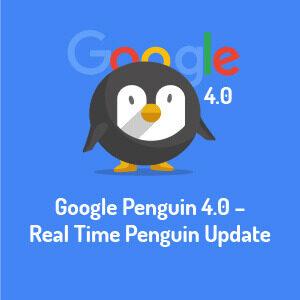 Google Penguin 4.0 Update – Real Time