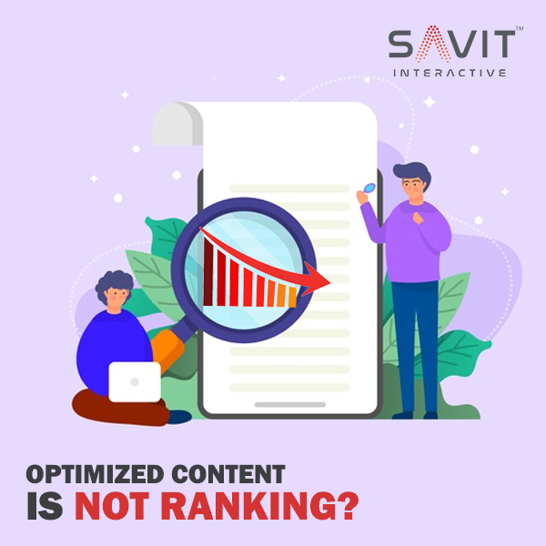 Why your Content won't rank even if optimized? Top Reasons & Quick Fixes