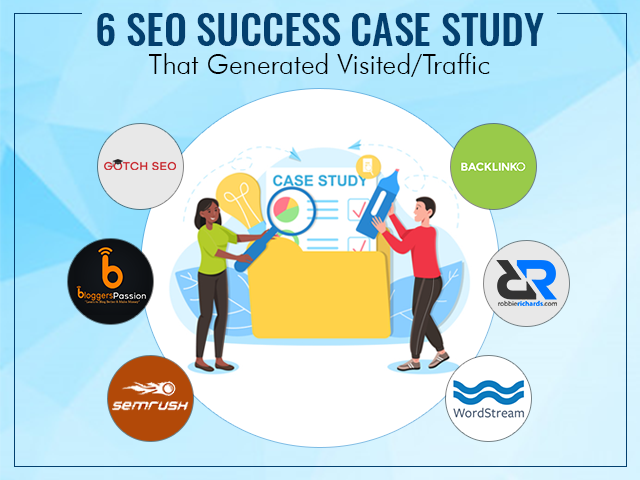 6 Successful SEO Case Studies that Generated Visited/Traffic