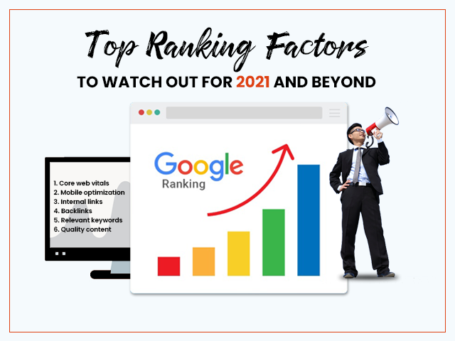Top Ranking Factors to Watch Out For 2021 and Beyond