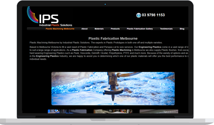 SEO case study of Industrial Plastic Solutions