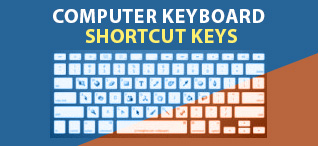Computer Keyboard Shortcut Keys, Windows Hotkey, MS Word and